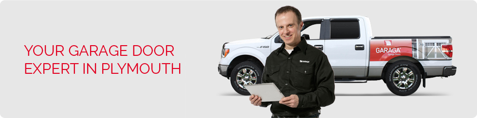 Your garage door expert in Plymouth