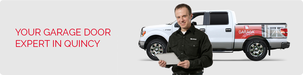 Your garage door expert in Quincy