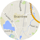 Map Braintree