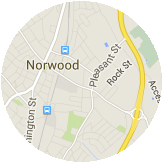 Map Norwood